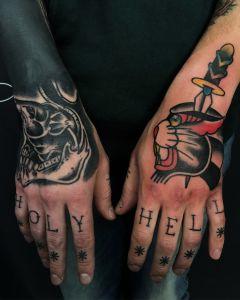 Mariusz Olech Tattoo