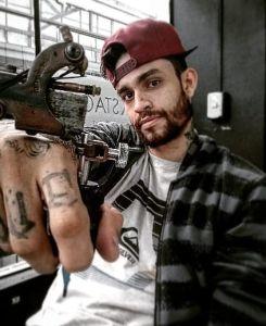 Arnaldo Gomez Tattoo