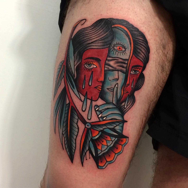 Kamil Ruczyński inksearch tattoo