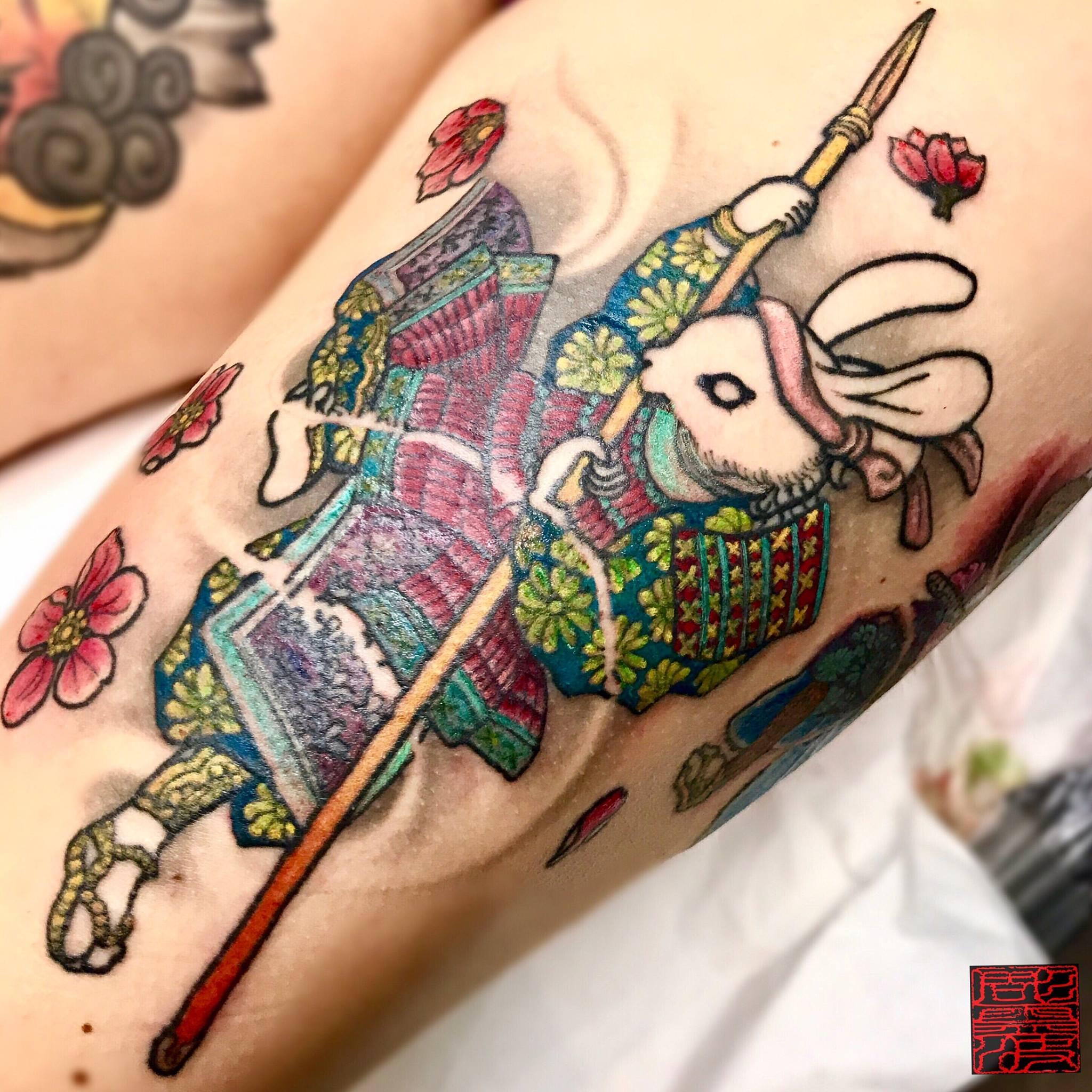 Lepa Dinis (彫霊波) inksearch tattoo