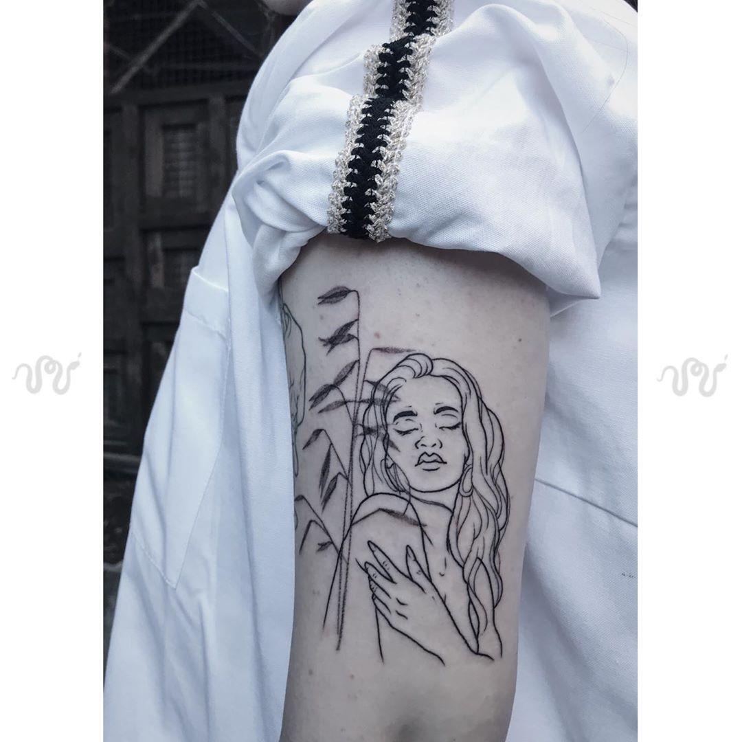 Mavka Tattoo inksearch tattoo