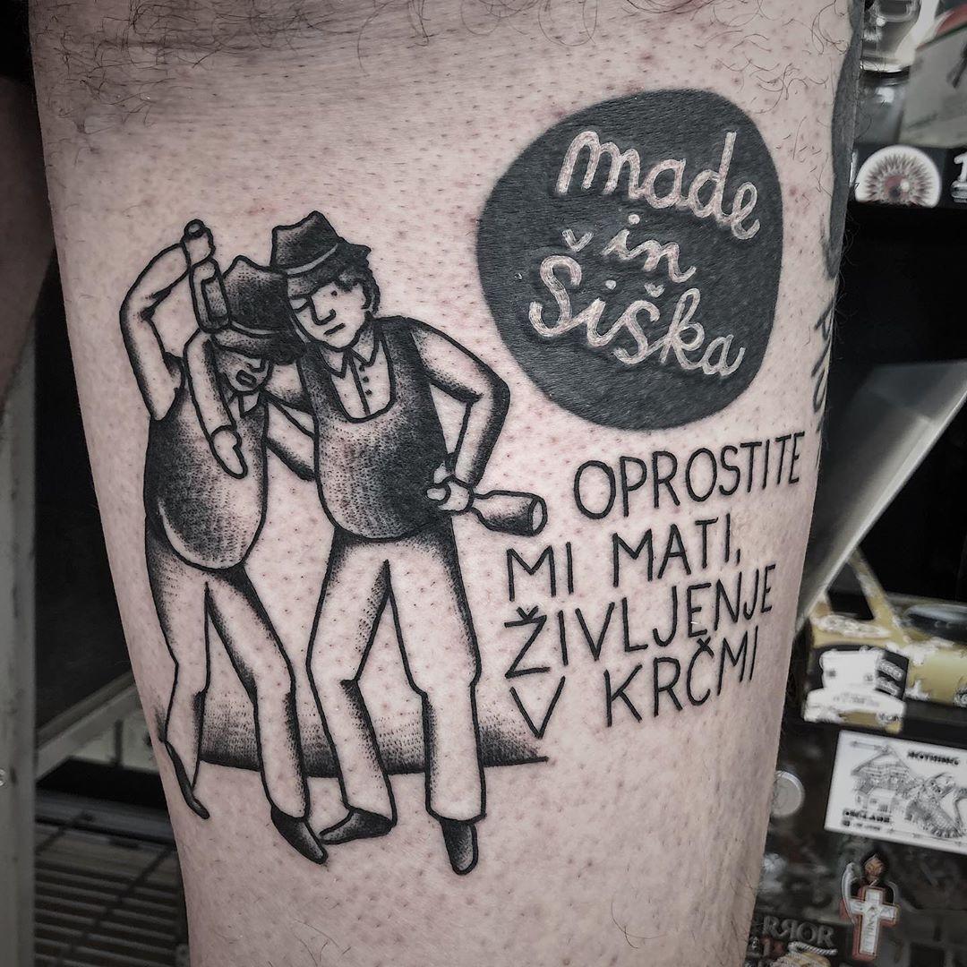 Tetoviranje Pri Nejcu -  Nejc Sedeminosemdeset inksearch tattoo