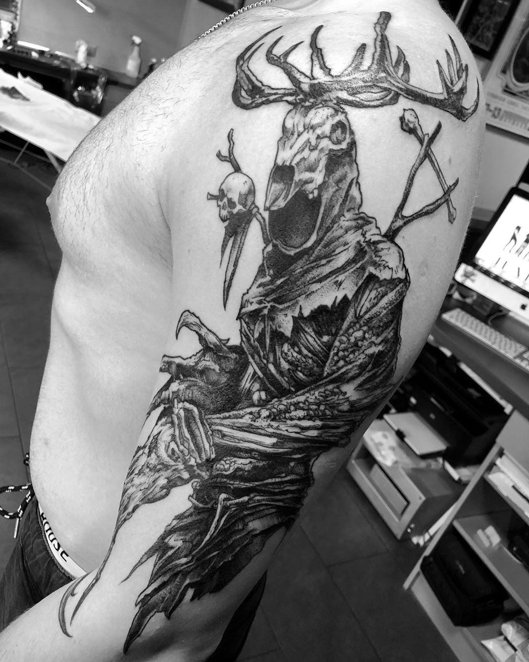 Mikołaj Cybe Piszczako inksearch tattoo