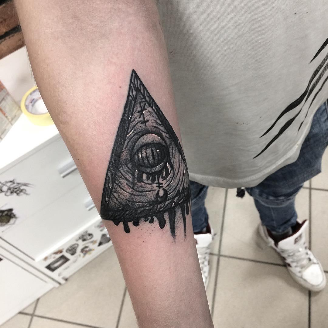 Six Pentagrams inksearch tattoo