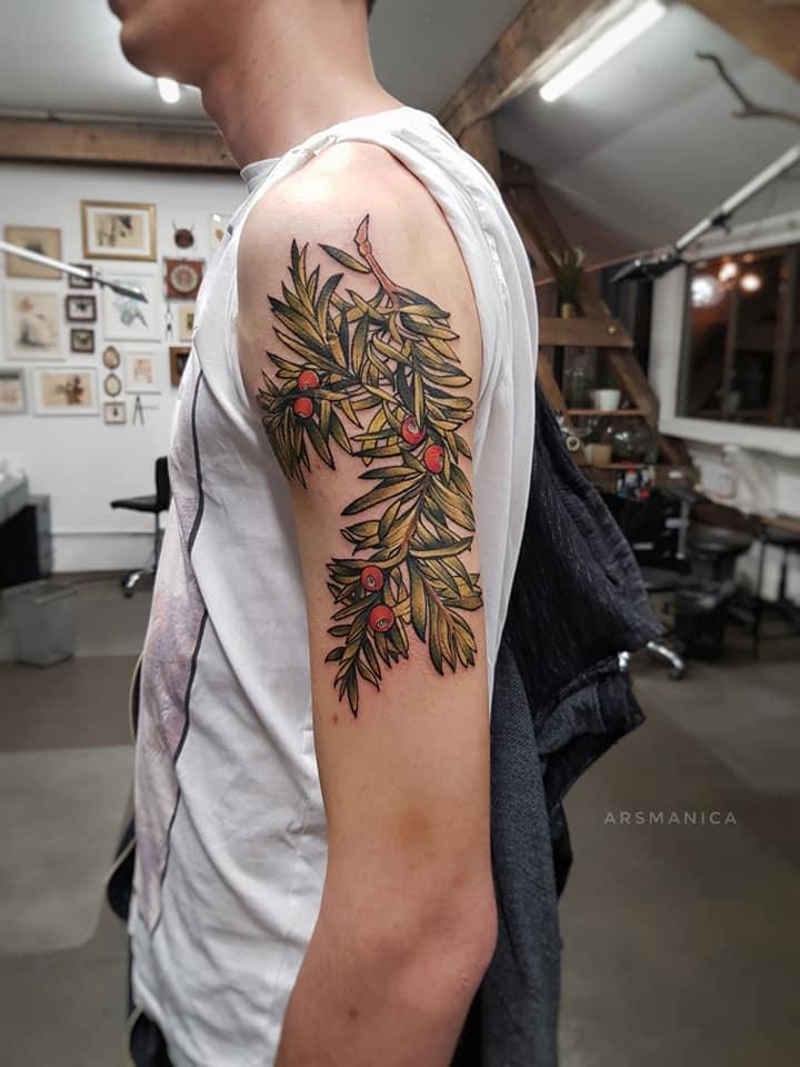 Anna Jakubiec aka Arsmanica inksearch tattoo