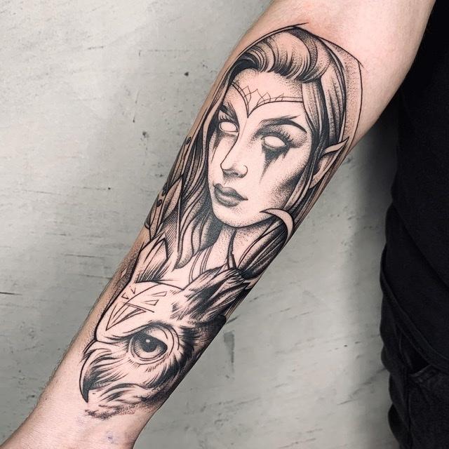 Eva Mad Tattoo inksearch tattoo