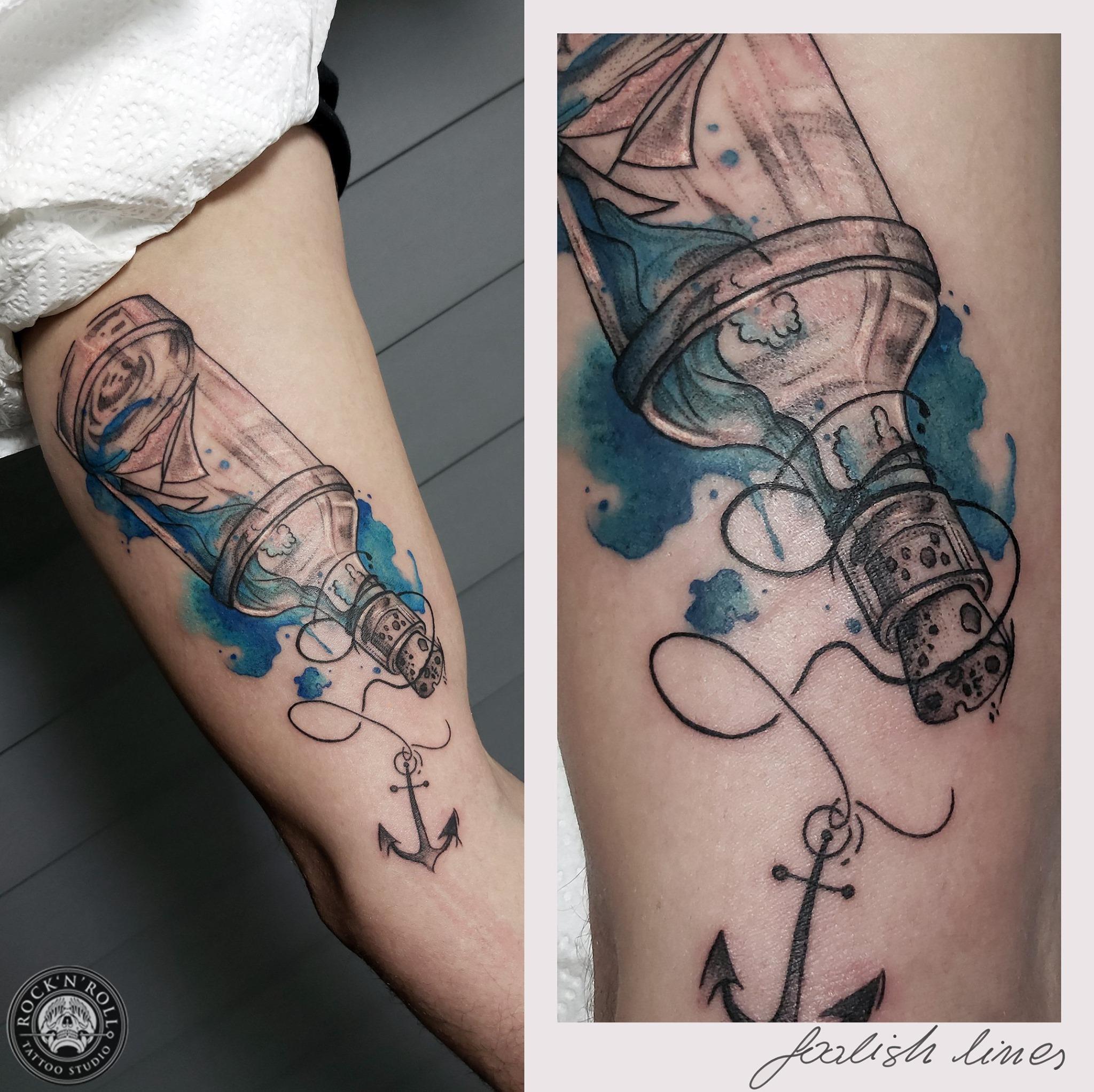 Agata Lewandowska - Foolish Lines Tattoo inksearch tattoo