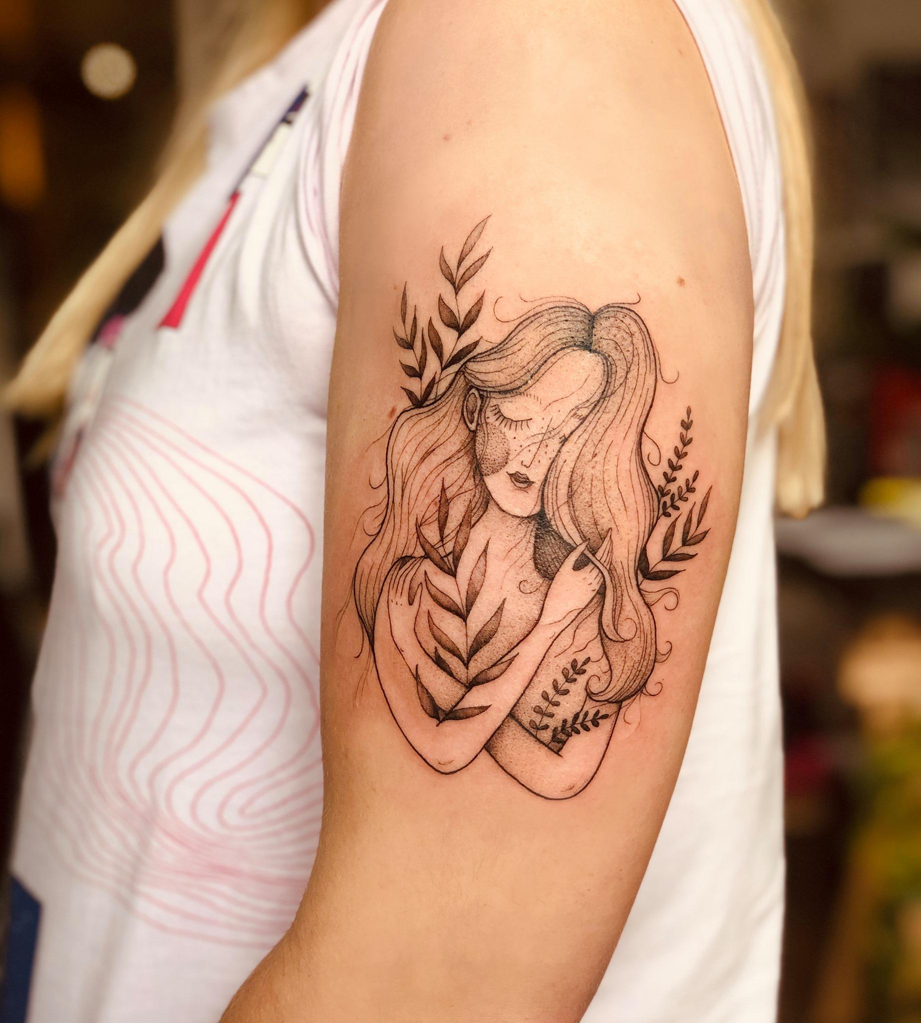 Aleksandra Wieczorkiewicz inksearch tattoo