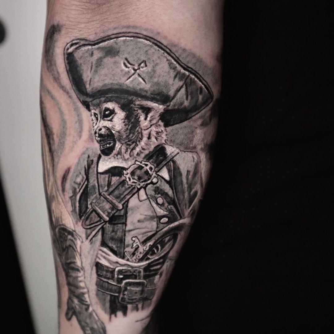 "Steve ""Skinelectrics"" Foster inksearch tattoo"