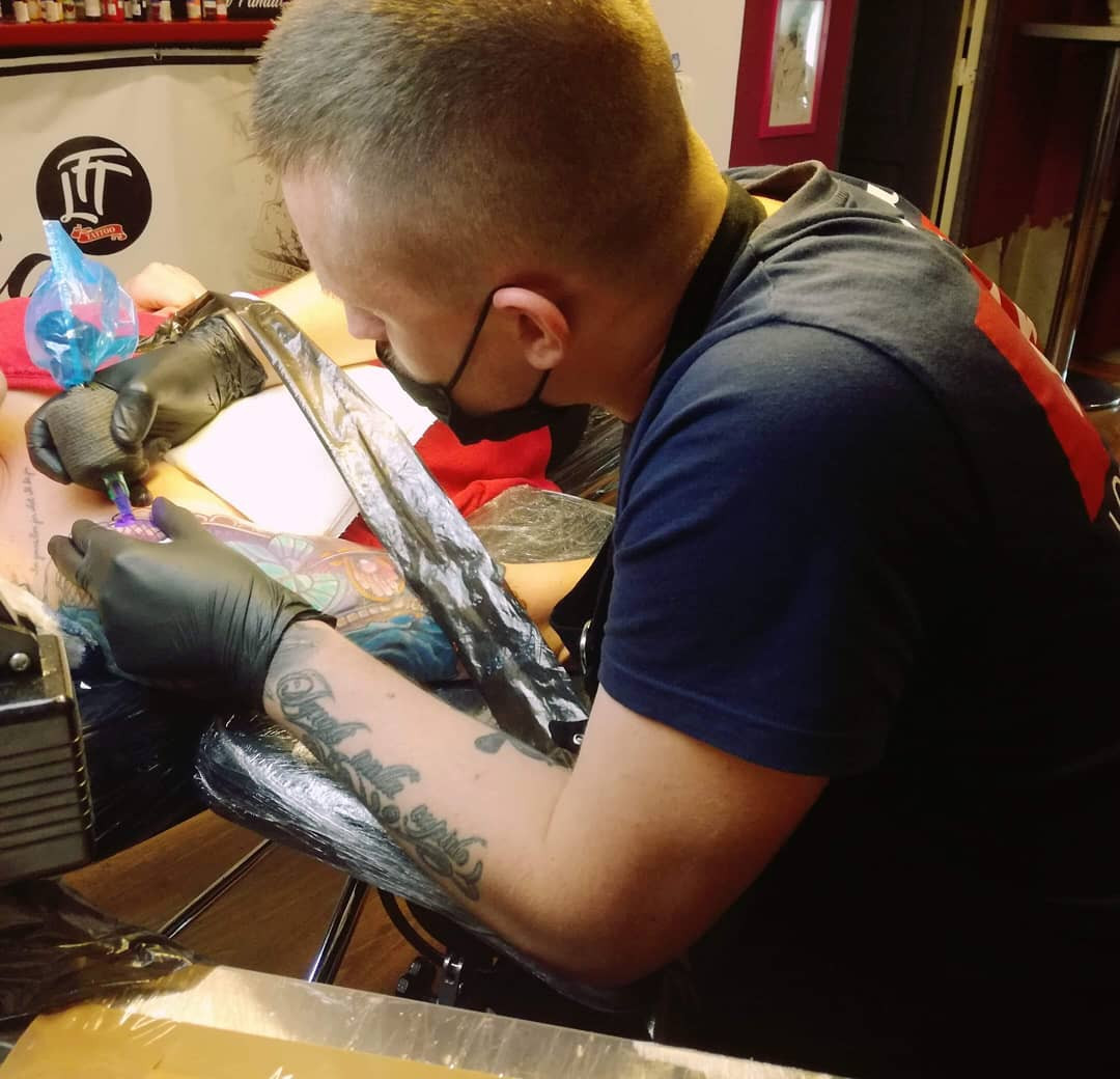 Aleksandr Zotsenko inksearch tattoo