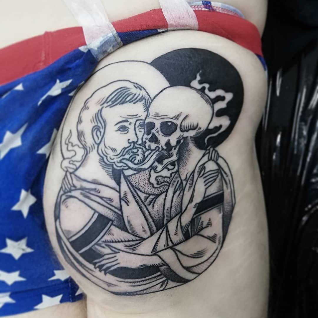 Norman inksearch tattoo