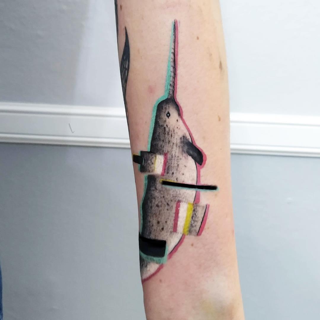 Mary Louse Tattoo aka Shiba Inku inksearch tattoo