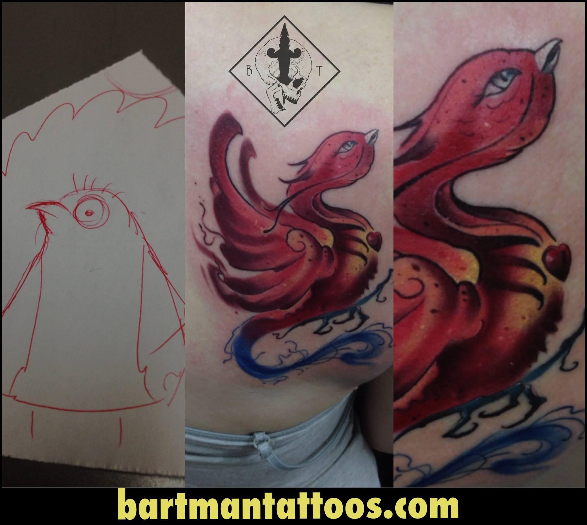 Bart inksearch tattoo