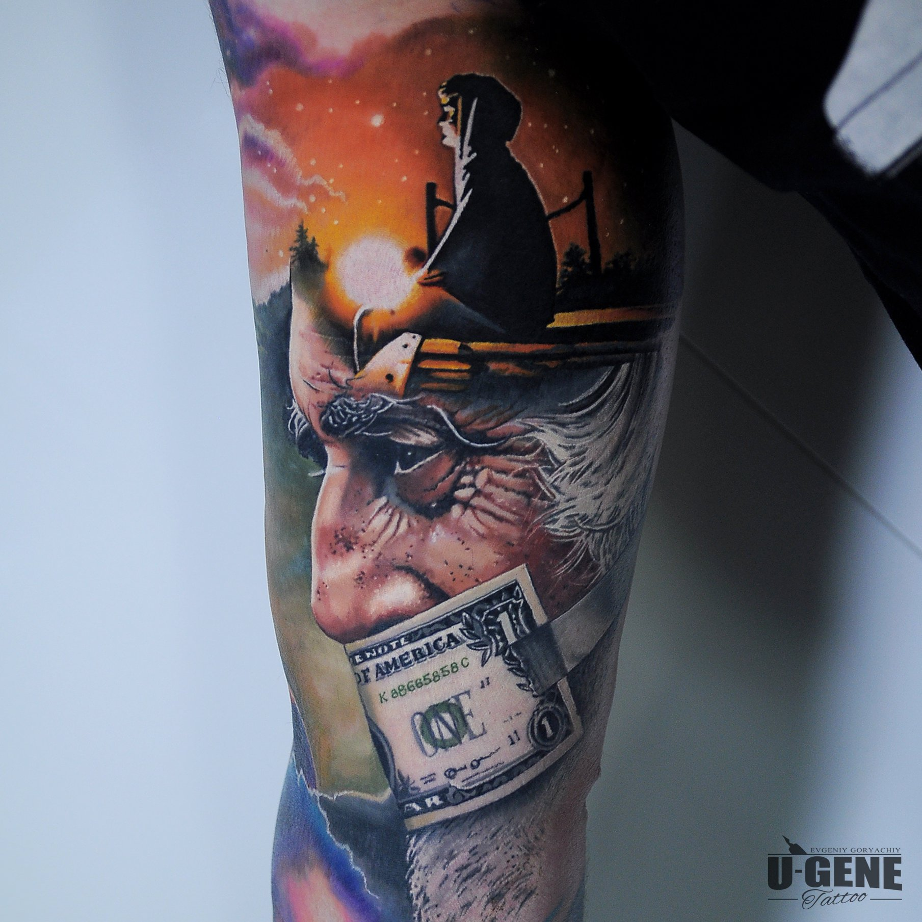 U-Gene Tattoo inksearch tattoo