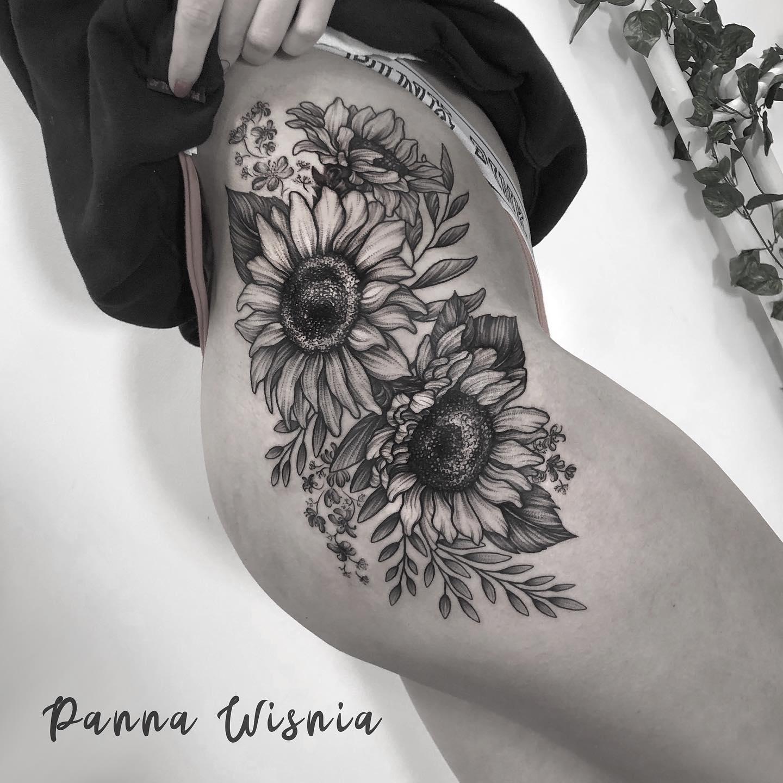 Panna Wiśnia inksearch tattoo