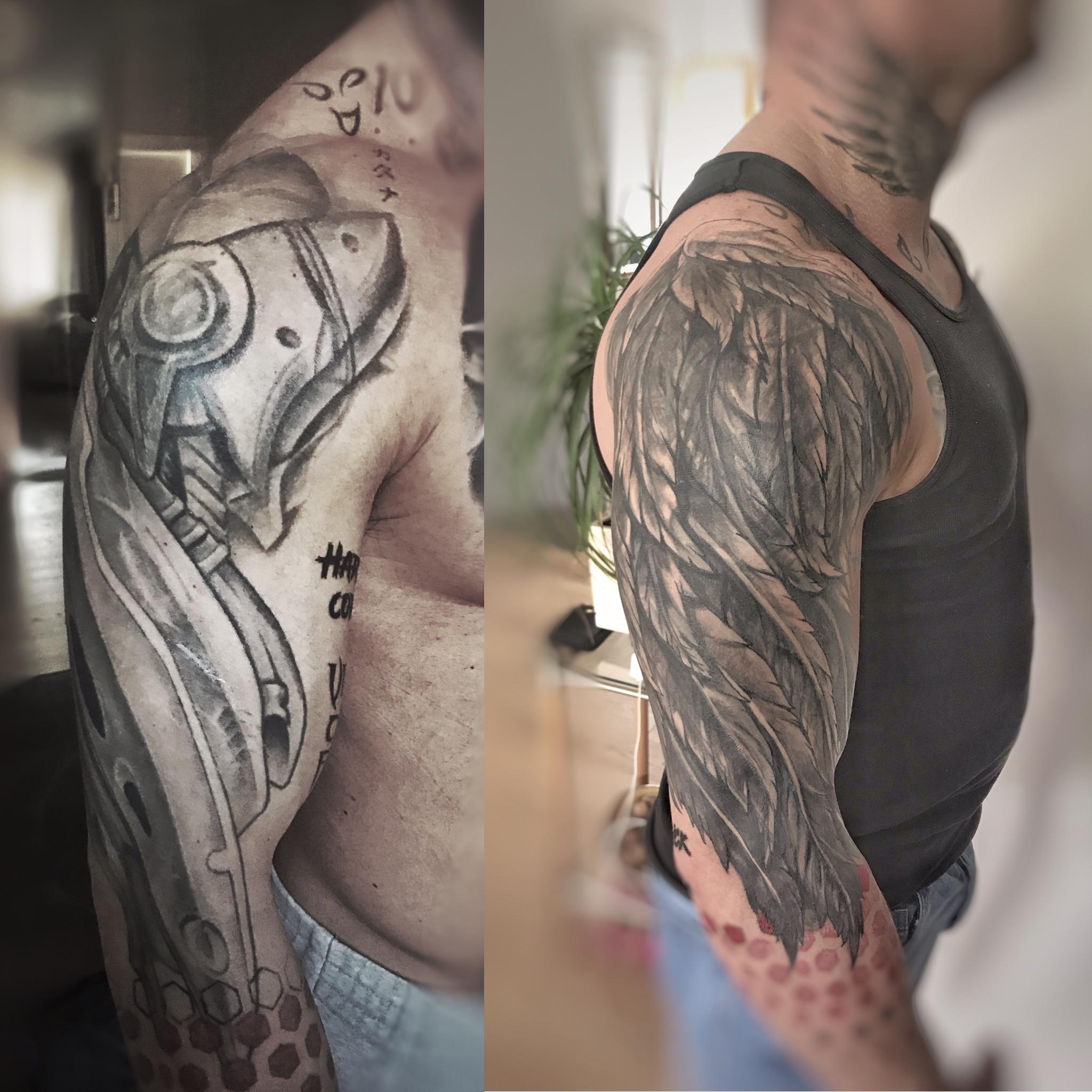 WoodMan Tattoo inksearch tattoo