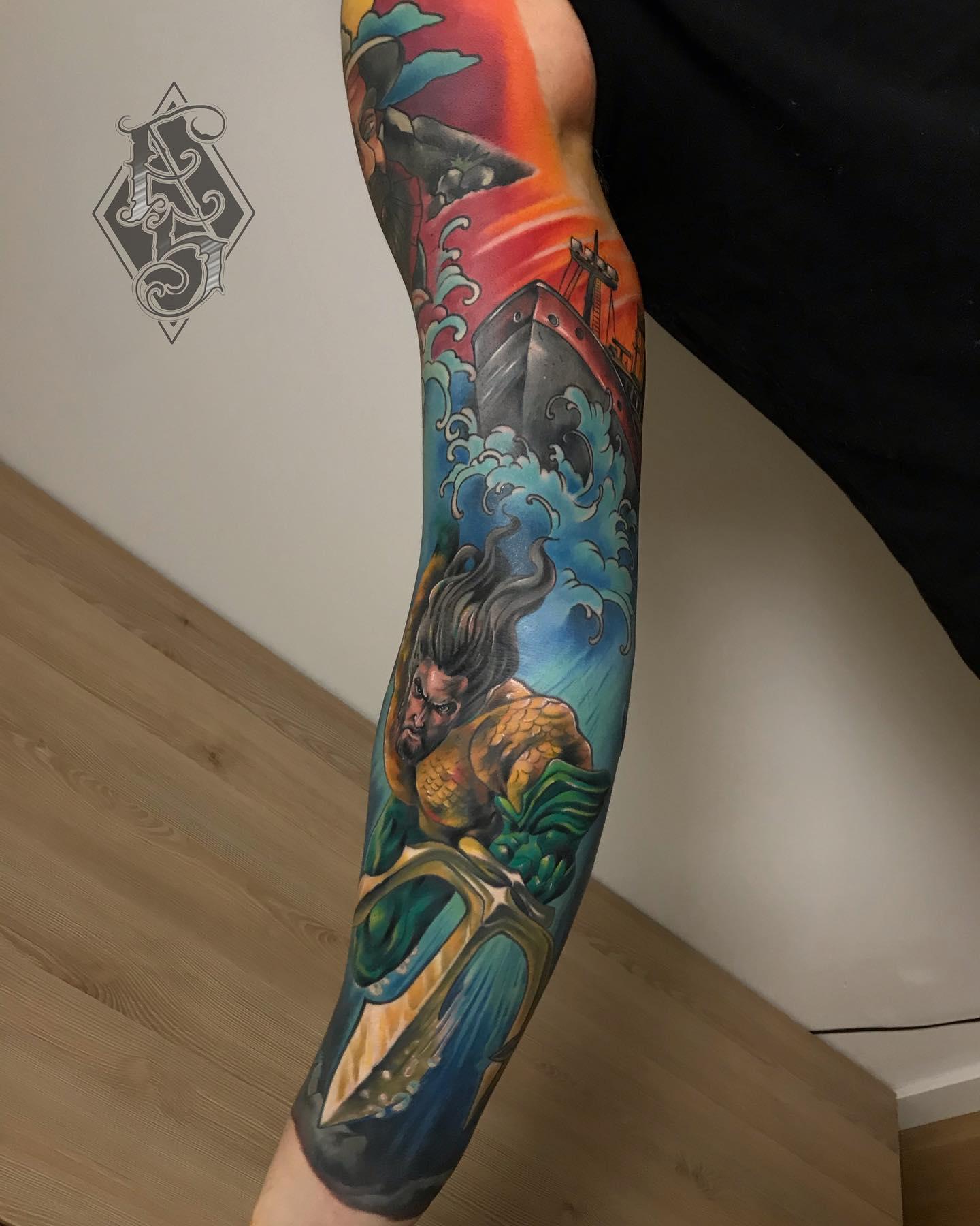 Arek Szubert inksearch tattoo