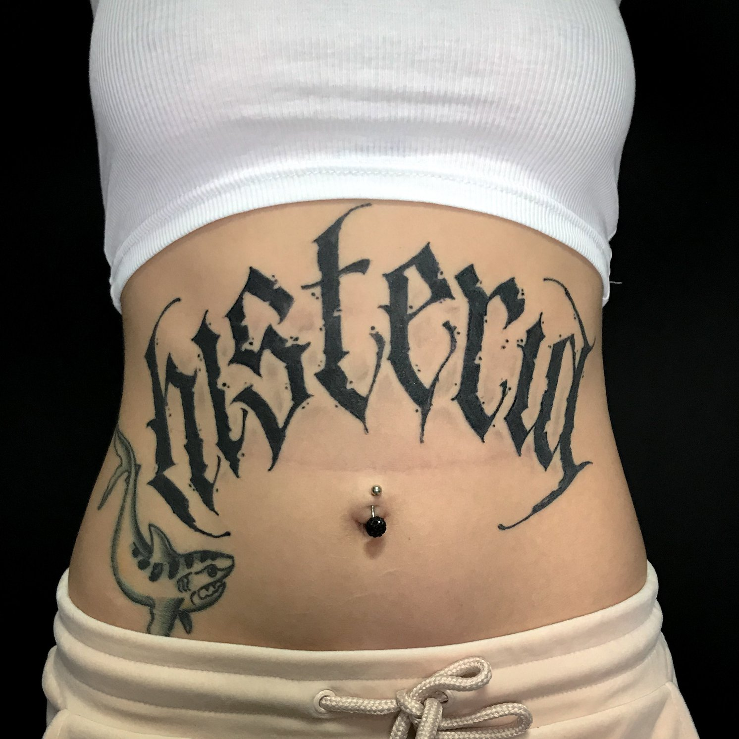 Antonio Lettering inksearch tattoo