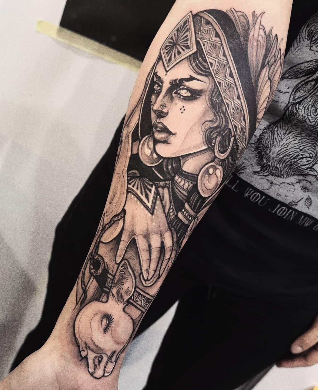 Filouino - Sacramela Tattoo inksearch tattoo