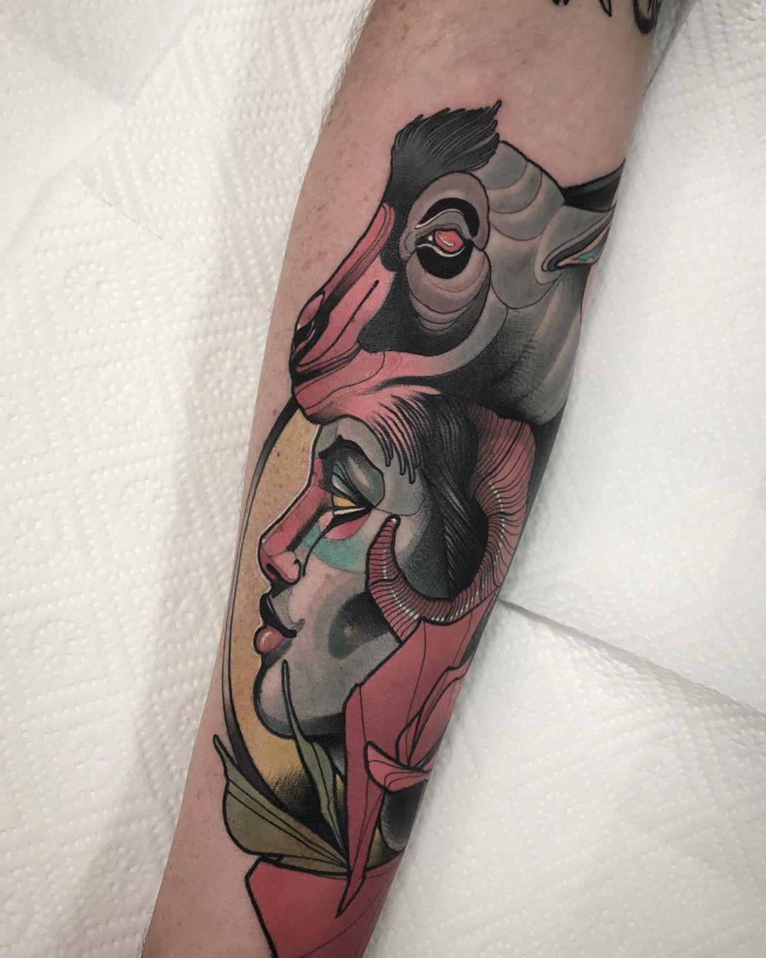 PIOTR GIE inksearch tattoo