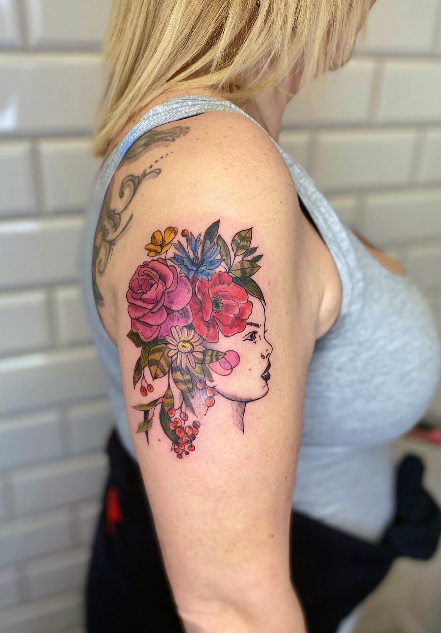 LIDIA ROSE inksearch tattoo
