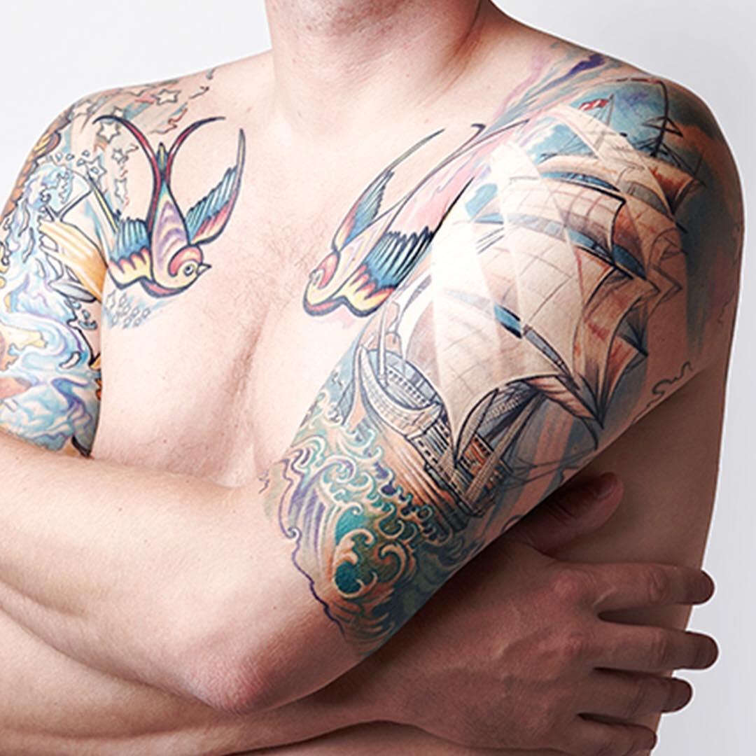 Sławomir Frączek inksearch tattoo