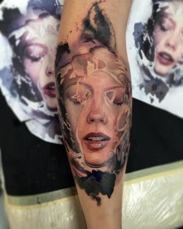 Michał Dudi Dudek inksearch tattoo