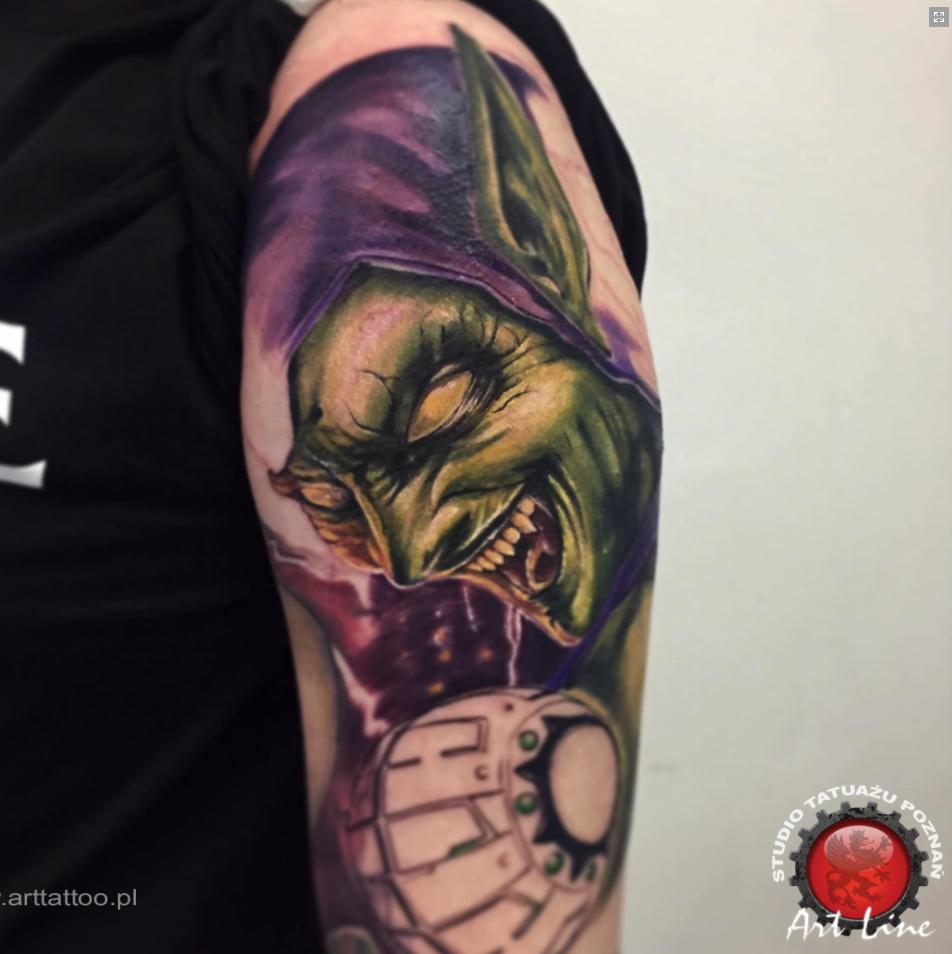Michał Fronc inksearch tattoo