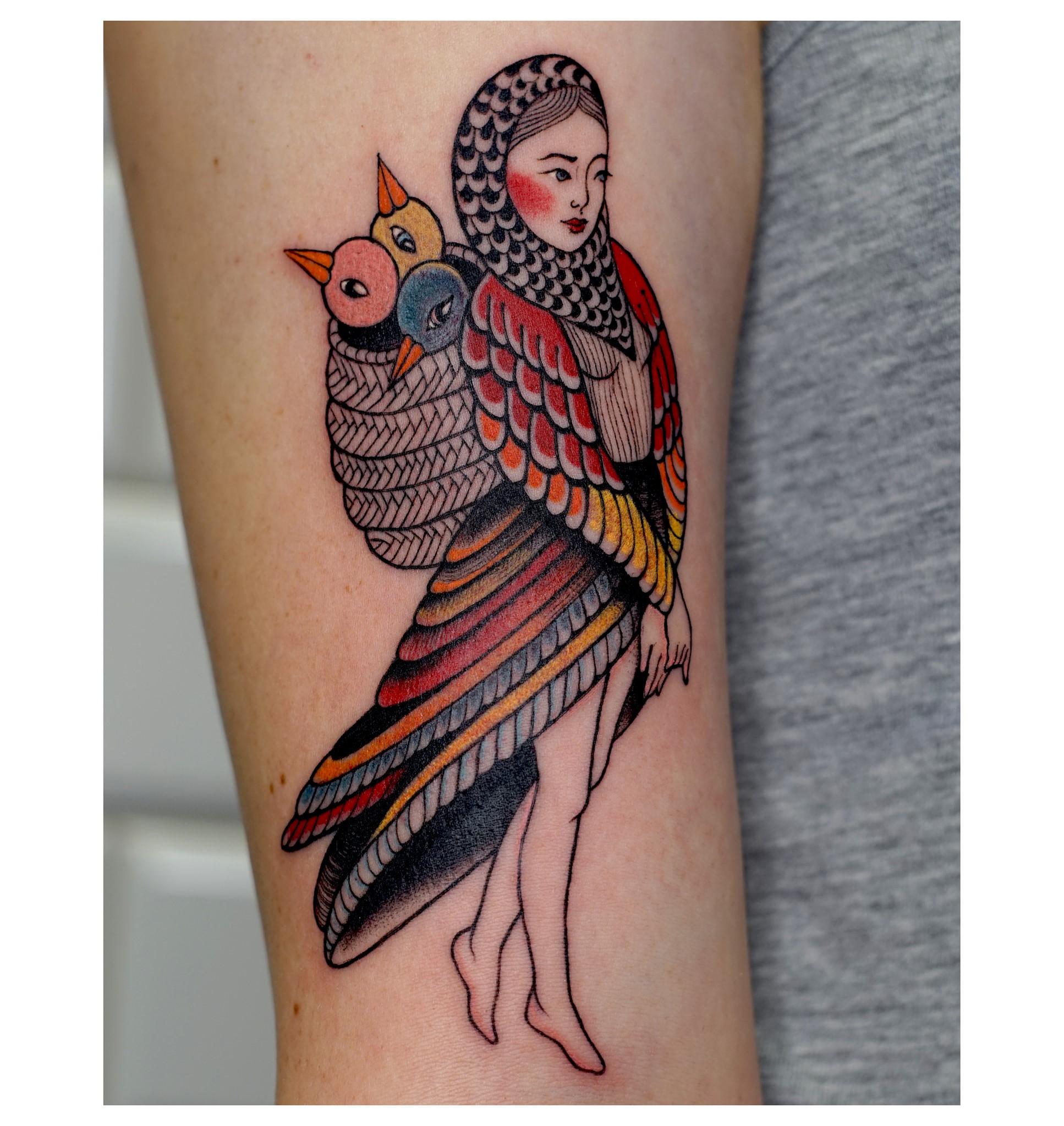 Anna Szejdewik aka Coxie inksearch tattoo