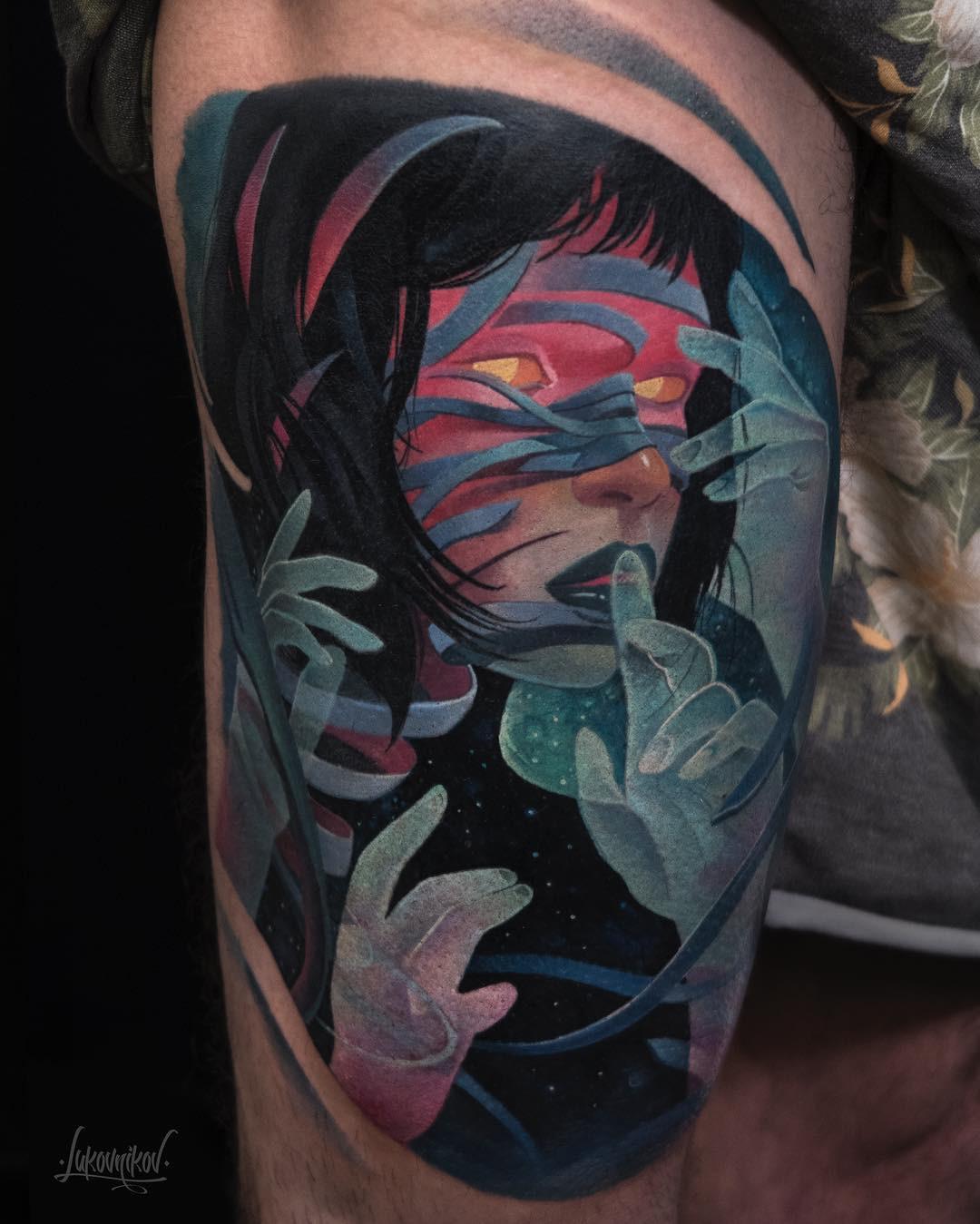 Andrey Lukovnikov inksearch tattoo