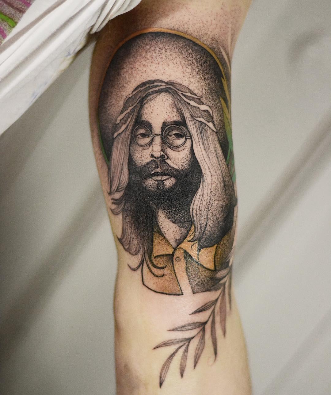 Dżo Lama inksearch tattoo