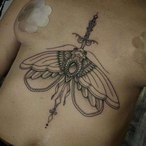 Bizon tattoo inksearch tattoo