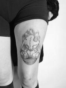 Ben Wolfner inksearch tattoo