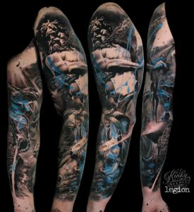 Legion VKN inksearch tattoo