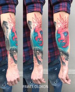 Pawel Olokon inksearch tattoo
