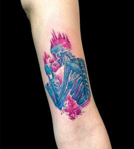 Kitty Wonderland inksearch tattoo