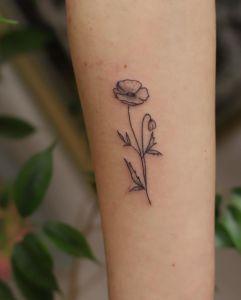 Freckle Hand Poke inksearch tattoo