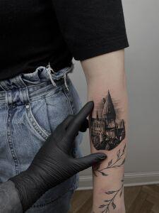 Viburnum_tattoo inksearch tattoo