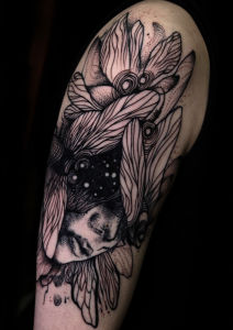 Pelikan Baba inksearch tattoo