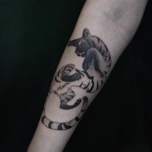 Tamandua box inksearch tattoo
