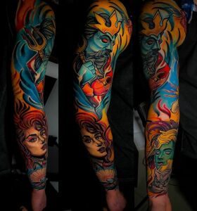 Janek - Stay Cold Tattoo inksearch tattoo