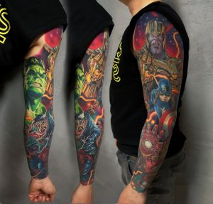 Юрий Очеретин inksearch tattoo