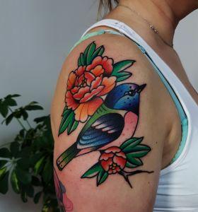 Marcin Szymański - Gruby Kruk inksearch tattoo