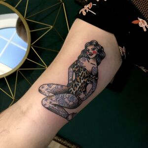 Oldschool.mistress inksearch tattoo