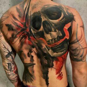Kazimierz Rychliński - Kosa Tattoo inksearch tattoo