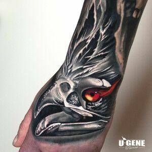 U-Gene Tattoo inksearch tattoo