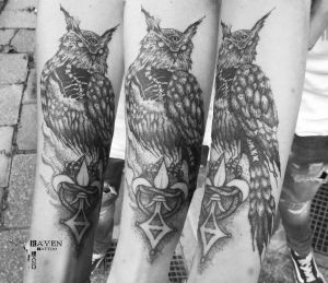 Raven Land Tattoo inksearch tattoo