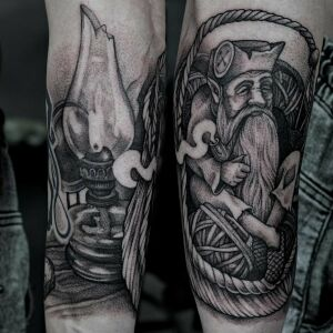 Leshy inksearch tattoo