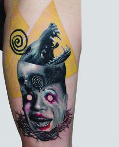 Monika Martykan inksearch tattoo